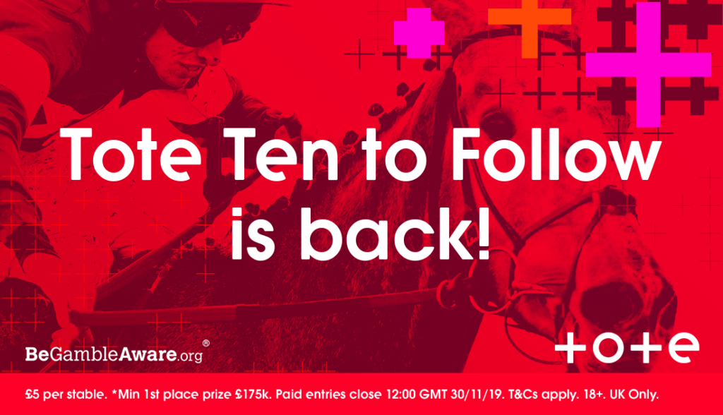 Tote Ten to Follow is back!